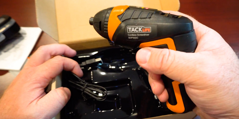 Review of TACKLIFE SDP51DC Cordless Screwdriver