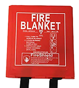 FireShield PRO Fire Blanket Hard Case (Kitemarked)