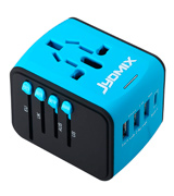 JYDMIX CD-UKDETA Universal USB Travel Power Adapter