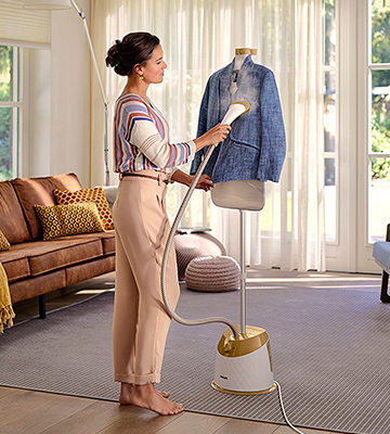 Review of Philips GC524/66 EasyTouch Plus Standing Garment Steamer