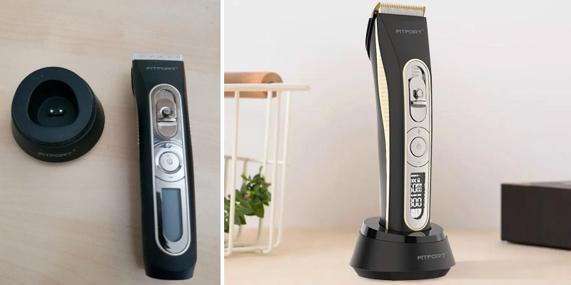 FITFORT Professional Cordless Hair Clippers in the use