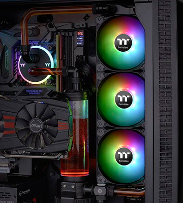 Review of Thermaltake (CL-F063-PL12SW-A) 120mm RGB Case Fans (Pack of 3)