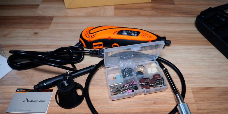 Review of TACKLIFE RTD35ACL 135W Advanced Multi-functional Rotary Tool Kit with 80 Accessories