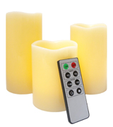 Frostfire 5001 Flameless Candles with Timer and Remote Control