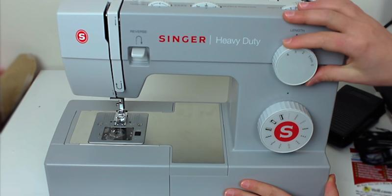 Detailed review of SINGER 4423