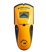 Zircon e50 Edge Finding Stud Finder with Live AC WireWarning Detection