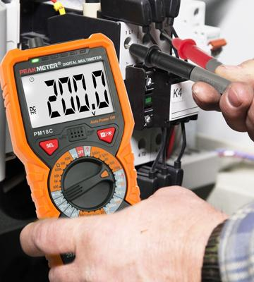 Review of Janisa PM18C Voltage Current Resistance Tester Multimeter