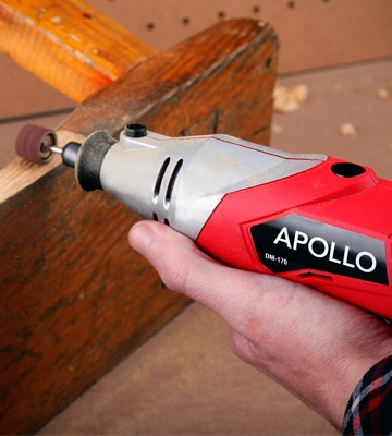 Review of Apollo DM-170 Heavy Duty 170W Rotary Multitool with 120 Piece Accessory