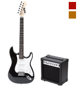 RockJam RJEGPKGUSA Full Size Electric Guitar Superkit