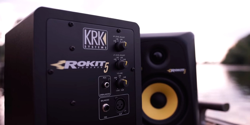 KRK Rokit 5 (RP5G3-NA) Active Studio Monitor Speakers (Pair) in the use