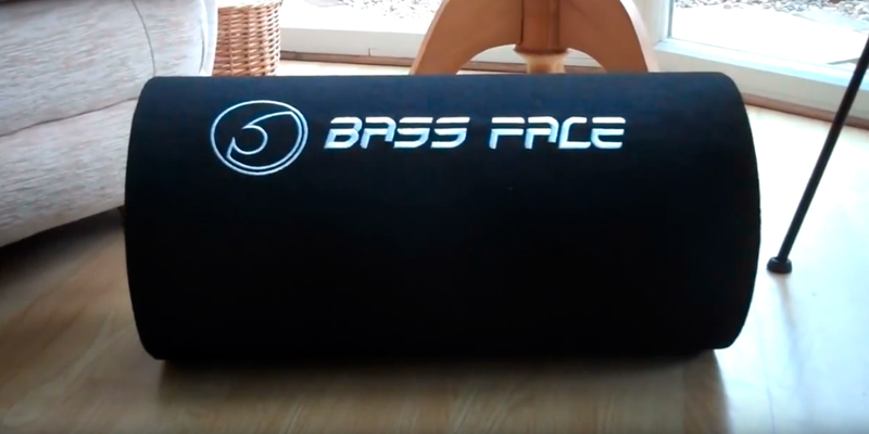 Review of Bass Face BASS10.1 10 inch 1100W Bass Tube Compact Car Subwoofer Enclosure