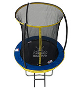 Zero Gravity Kids Ultima 4 High Spec Trampoline (ZG06U4) with Safety Enclosure Netting and Ladder