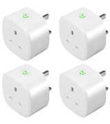 Meross (4PACK) Smart Plug WiFi Socket Works with Amazon Alexa, Google Home [New Model]