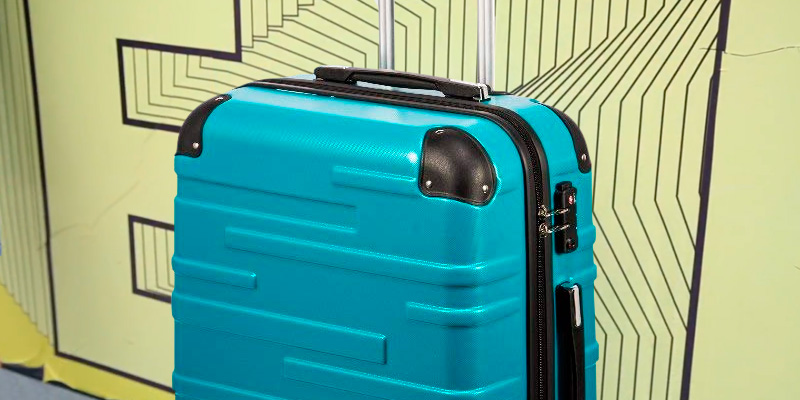 Review of Coolife Expandable Hard Shell Suitcase with TSA Lock