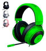 Razer Kraken Gaming Headset with Retractable Mic (PC, PS4 & Mobile Devices)