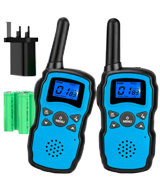 Wishouse 3-Pack Rechargeable with Battery Kids Walkie Talkies