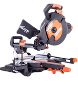 Evolution Power Tools R255SMS+ Multi-Material Sliding Mitre Saw