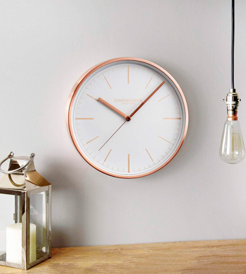 Review of London Clock Artemis Wall Clock Copper