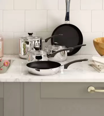Review of Prestige Everyday 5-Piece Stainless Steel Cookware Set