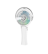 HandFan Portable Misting Fan with 7 Color Flash Light