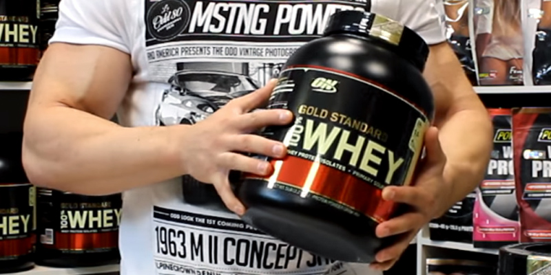 Review of Optimum Nutrition 100% Whey Gold Standard Whey Protein Powder
