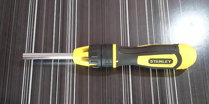 Review of Stanley Multibit Ratchet Screw Driver and Bits