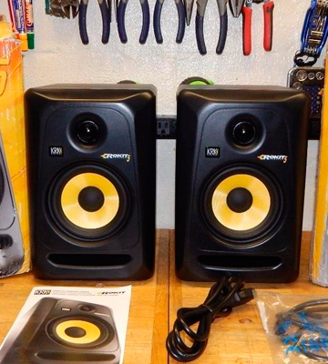 Review of KRK Rokit 5 (RP5G3-NA) Active Studio Monitor Speakers (Pair)