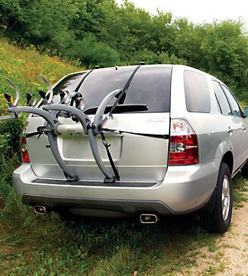Review of Saris Bones 3-Bike Boot Rack