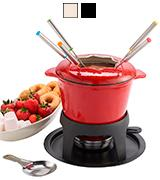 KitchenCraft Cast Iron Fondue Set