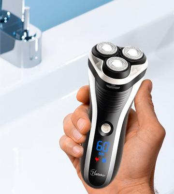 Review of Hatteker Mens Electric Shaver Razor Wet Dry