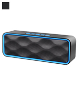 ZoeeTree ZJB01000 Wireless Bluetooth Speaker with Built-In Dual Driver Speakerphone