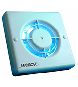 Manrose XF100T 4-inch Timer Extraction Fan