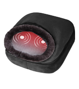 Snailax 2-in-1 Shiatsu Foot and Back Massager with Heat