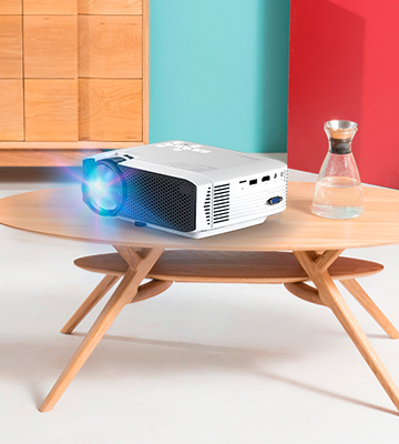 Review of Apeman LC350 3800 Lumens LCD Portable Mini Projector
