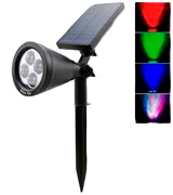 Bailun Solar Color Changing Spotlight