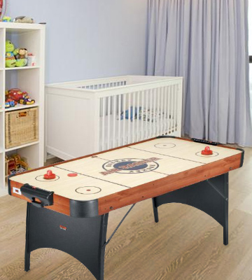 Review of Riley AH104 Air Hockey Table Fast Playing Home Sport Game