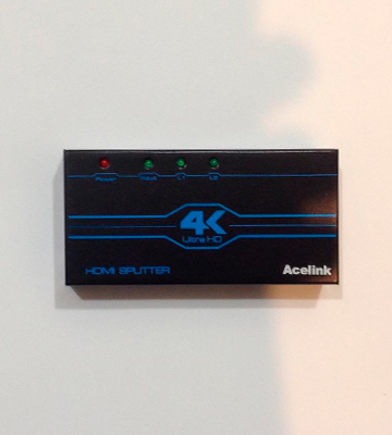 Review of Acelink AK005-UK 4 Way HDMI Splitter