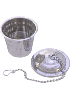 Apace Set of 2 Loose Leaf Tea Infuser with Tea Scoop and Drip Tray