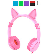 iClever IC-HS01 Cat-Inspired Kids Headphones