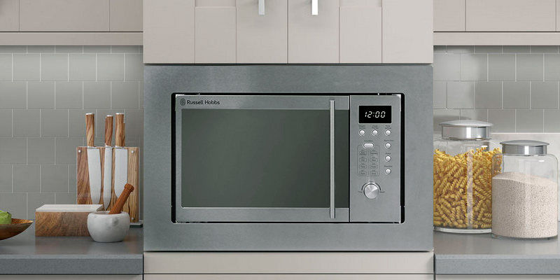 Russell Hobbs RHBM2001 Built In Digital Solo Microwave 20L in the use