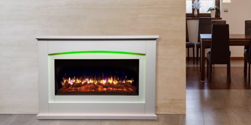 Review of Endeavour Fires and Fireplaces Danby E119R/118S Electric Fireplace