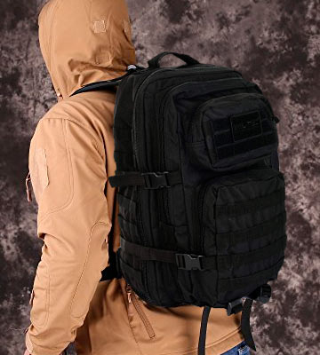 Review of Mil-Tec 14002608 Military/Outdoor/School Rucksack