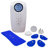 Med-Fit Wireless Dual Channel Rechargeable TENS and Muscle Stimulator