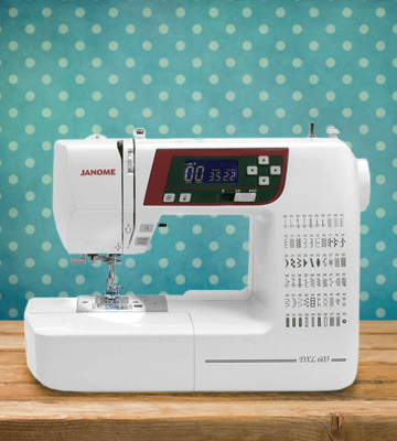 Review of Janome DXL603 Sewing Machine