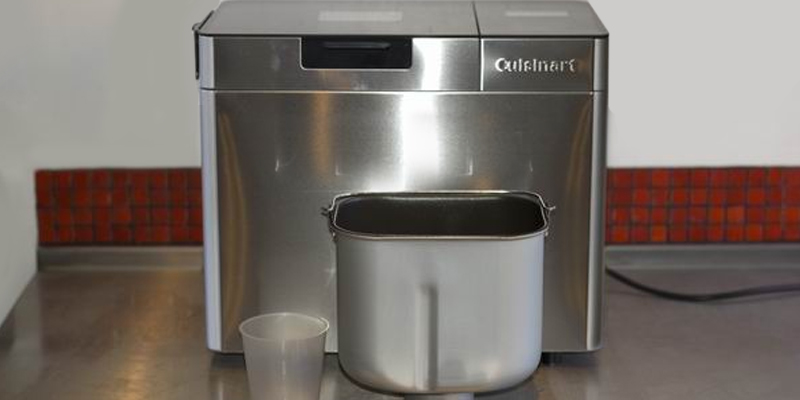 Cuisinart CBK250U Bread Maker application