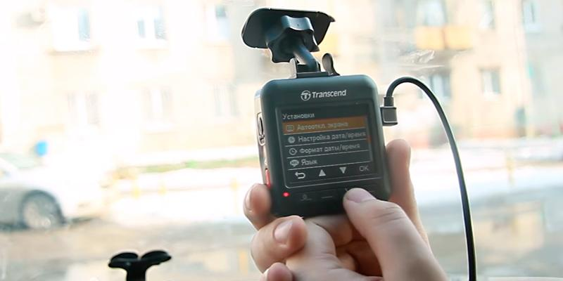 Transcend DrivePro 200 Car Video Recorder with Built-In Wi-Fi in the use