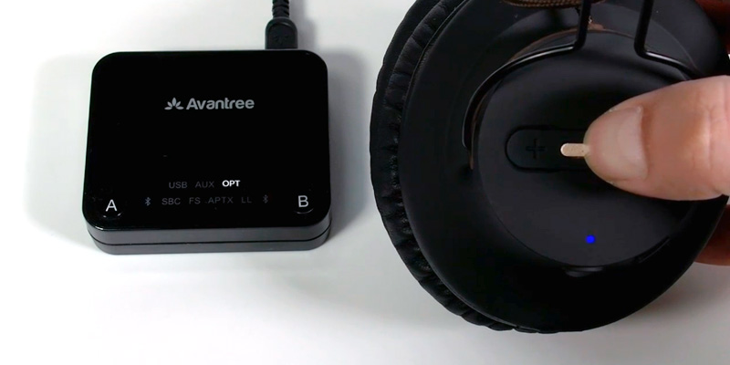 Review of Avantree HT4189 Wireless Headphones for TV Watching & PC Gaming with Bluetooth Transmitter