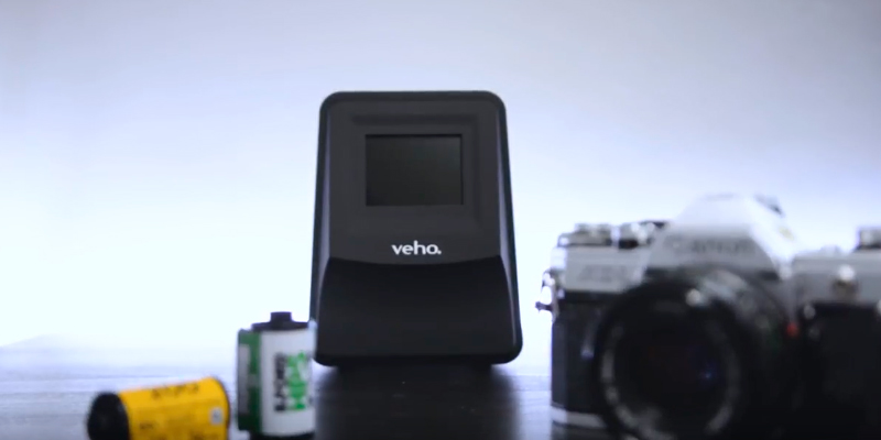 Veho VFS-014-SF Smartfix Portable Stand Alone 14 Megapixel Negative Film & Slide Scanner in the use