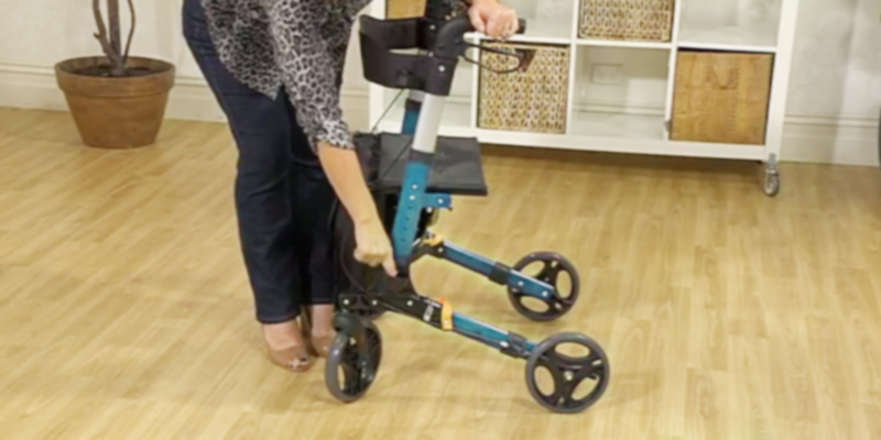 Review of Elite Care X Cruise Folding Lightweight Rollator
