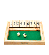 Jaques of London Shut the Box Dice Game